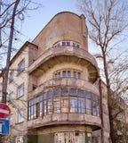 Old house in the Irkutsk city royalty free stock photos