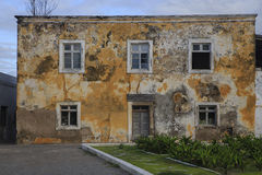 Old house -  Island of Mozambique. Royalty Free Stock Photo