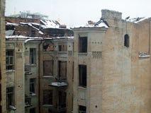 Old house in Kiev. Old buildings in Kiev Royalty Free Stock Photography