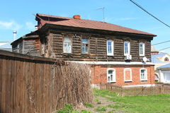Old house. House in the old Kolomna, Moscow region Russia Royalty Free Stock Image