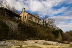 Old House Kotli, Istria Royalty Free Stock Images