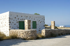 Old house in Koufonissi island Royalty Free Stock Image