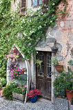 Old house on the Lago Maggiore Stock Image