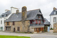 Old house in Le Faou Royalty Free Stock Image