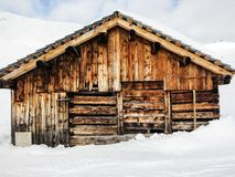 Old house Lech Stock Photo