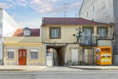 Old house in Lisbon. Portugal stock images
