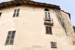 Old house at Lozzolo Stock Photography