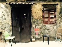 Old House. An old house in Macao royalty free stock photography