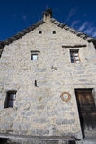 Old house made of stone Stock Photography
