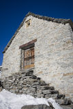 Old house made of stone Royalty Free Stock Photography