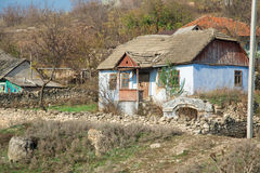 Old house made from stone. Royalty Free Stock Images