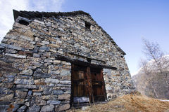 Old house made of stones Stock Photos