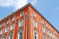 Old house on the Main Square in Cracow Stock Image
