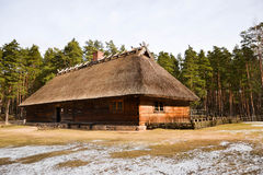 Old house and mallet Stock Image