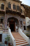 Old house. Mandawa. Rajasthan. India Royalty Free Stock Photography