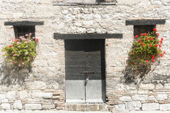 Old house in Marches (Italy) Stock Photo