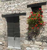 Old house in Marches (Italy) Royalty Free Stock Photography