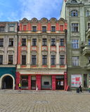 Old house on the market square in Swidnica Royalty Free Stock Image