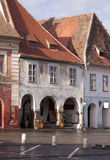 Old house in medieval town of Sibiu Stock Photography