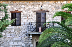 Old house in a mediterranean village Royalty Free Stock Photography