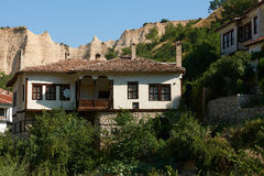Old house in Melnik Royalty Free Stock Image