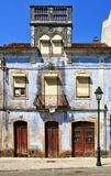 Old house in Miranda do Corvo Royalty Free Stock Images