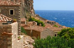 Old house in Monemvasia, Greece Royalty Free Stock Image