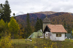 Old house in the mountain Stock Photography