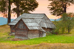 An old house in the mountains Royalty Free Stock Photography