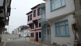 Old house from mudanya. Vovacious homes bolu Royalty Free Stock Images