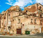 Old house in Naples Stock Photo