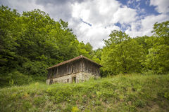 Old house in the nature Stock Photography