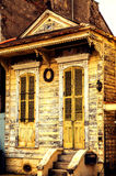 Old house in New Orleans. Dilapidated house in New Orleans LA royalty free stock image