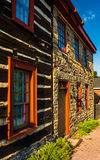 Old house in New Oxford, Pennsylvania. Stock Photo