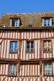 Old house in Nogent le Roi in Eure et Loir Stock Photography