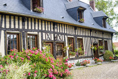 Old house in Normandy Royalty Free Stock Photo
