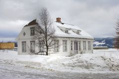 Old house in Norway Stock Image