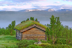 Old house in Norway. Royalty Free Stock Photography