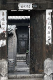 Old House Of The Ancient City. Royalty Free Stock Images