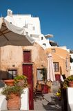 Old house in Oia, Santorini Royalty Free Stock Photography