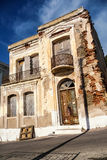 An old house in Oinousses island, Greece. An old house in Oinousses island Stock Photo