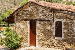 Old house. In Kakopetria village, Cyprus Stock Images