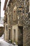 Old house in Ordino. Andorra.  Stock Photo