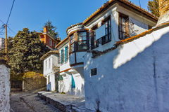 Old house from ottoman period in Xanthi, East Macedonia and Thrace Royalty Free Stock Photos