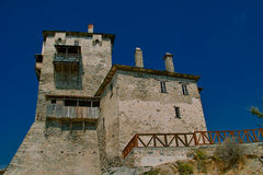 Old house - Ouranoupoli Stock Image