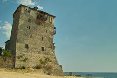 Old house - Ouranoupoli Stock Photography