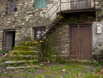 Old house, Pelion, Greece Royalty Free Stock Image