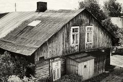 Old house in Poland Royalty Free Stock Images