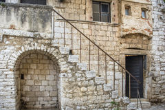 An old house in Porec Croatia Royalty Free Stock Image