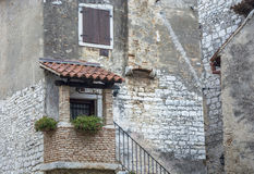 An old house in Porec Croatia Royalty Free Stock Photography